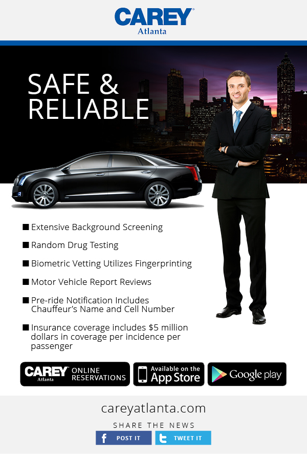 Carey Atlanta - Safe and Reliable