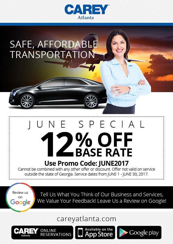 use the june promo code for 12 off base rate carey executive limousine june promo code for 12 off base rate